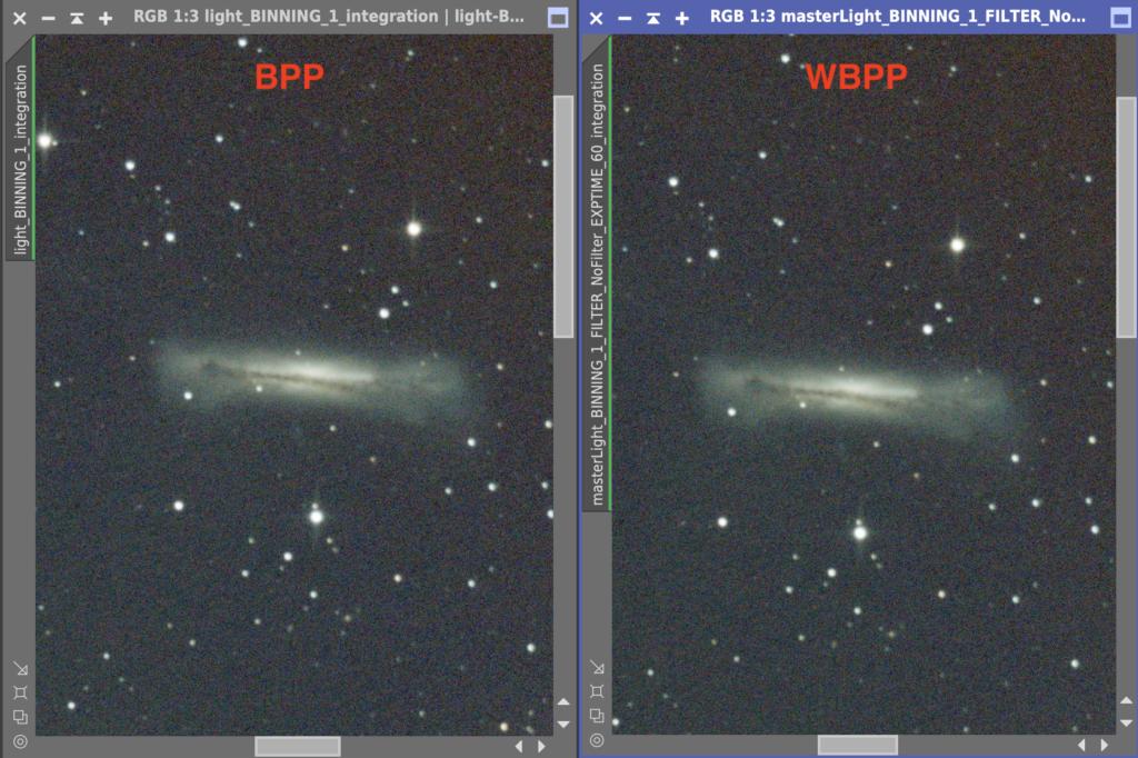 BPPとWBPP (銀河)