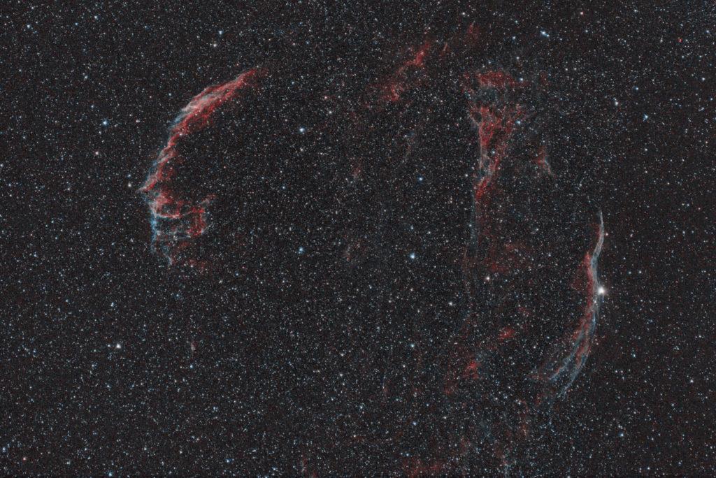 擬似HOOで処理した網状星雲