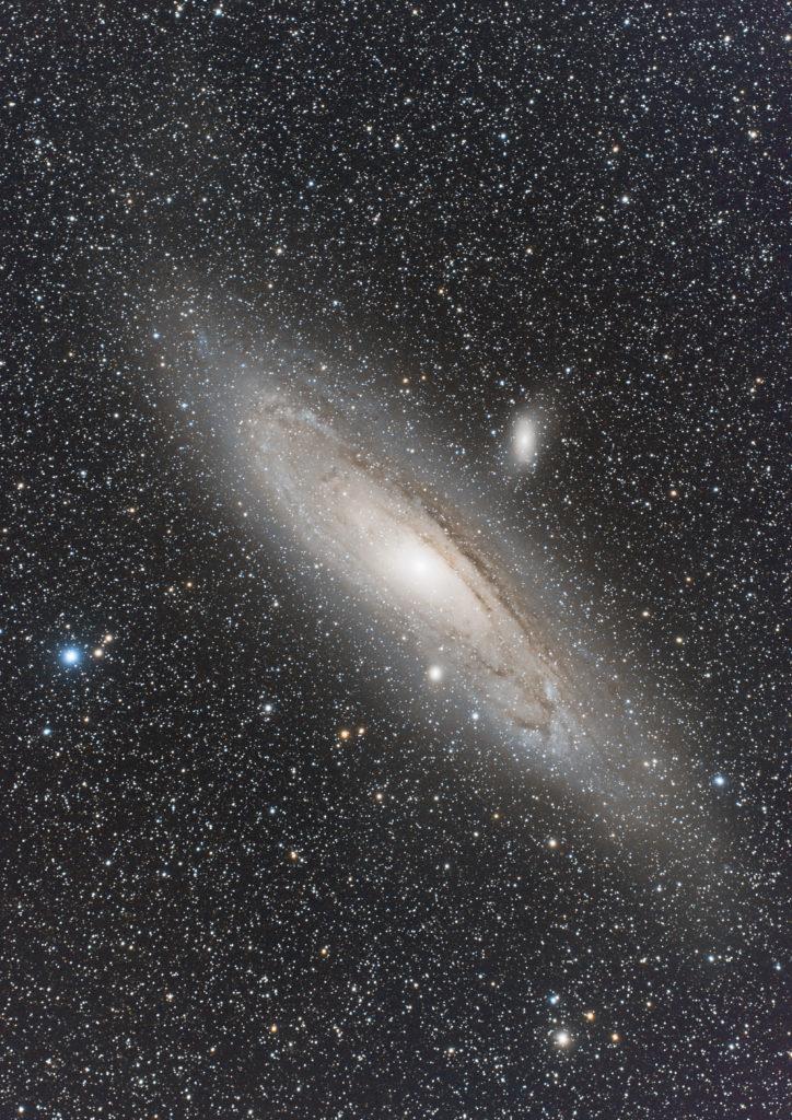 再処理後のアンドロメダ銀河