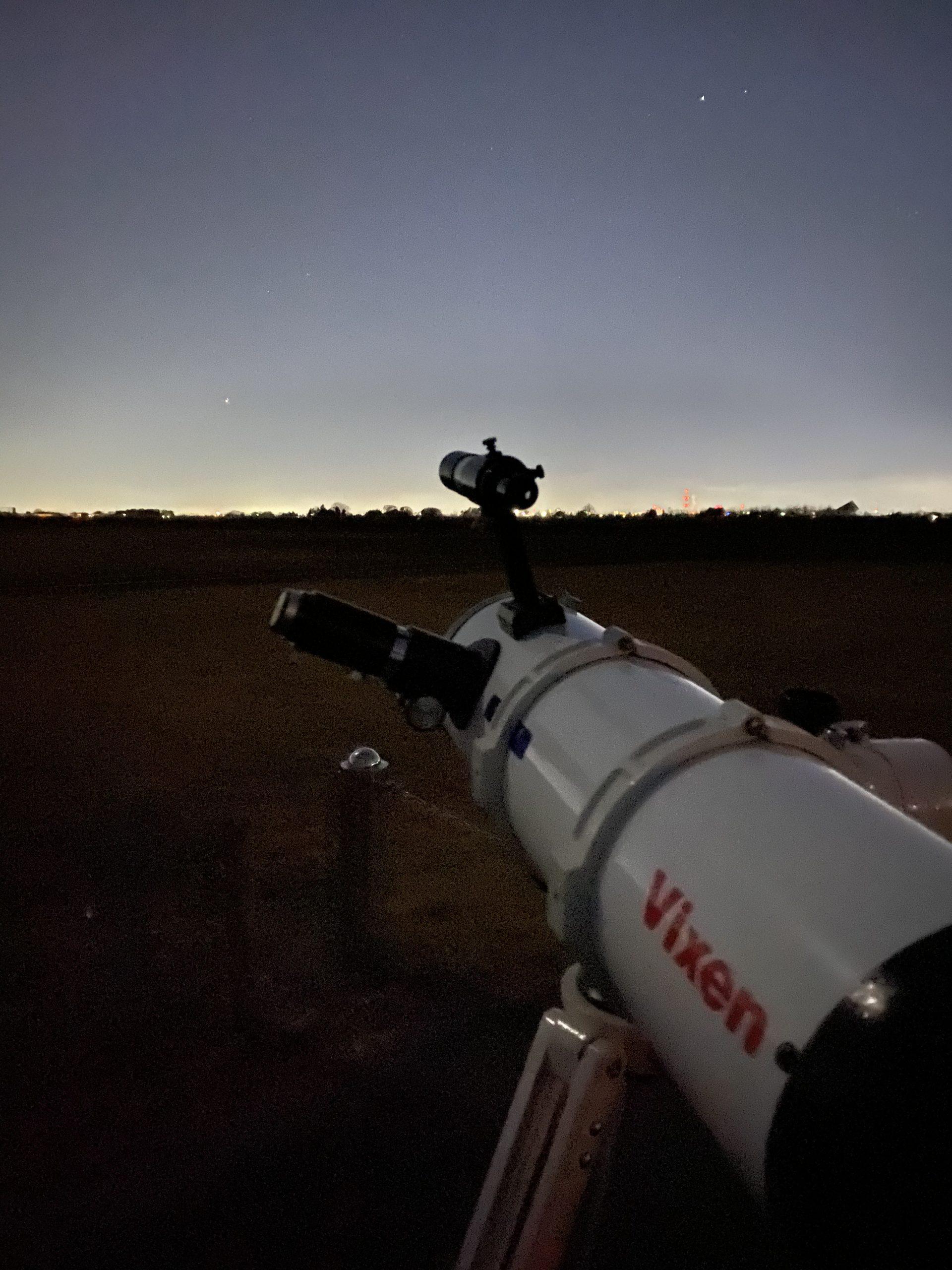 木星・土星を望むR130Sf
