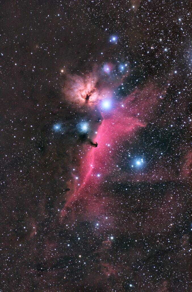再処理後の馬頭星雲