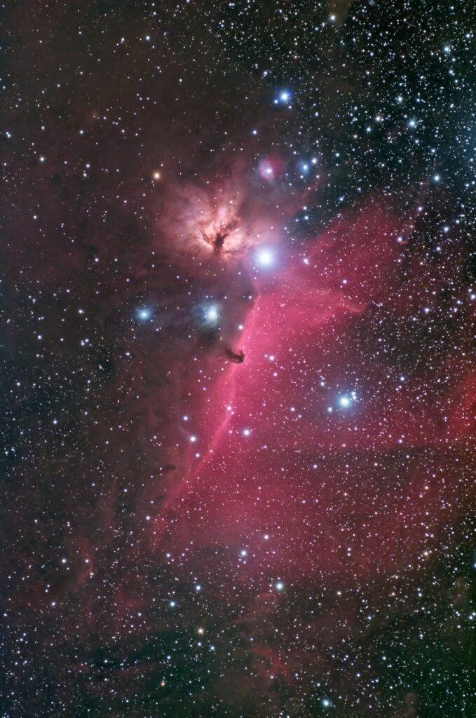 再処理前の馬頭星雲