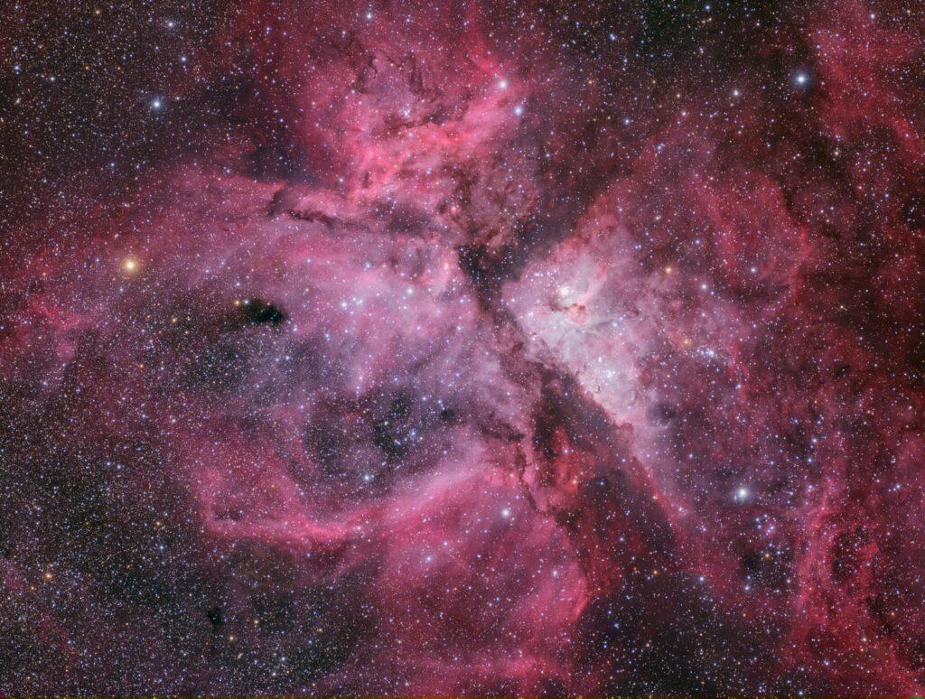 イータカリーナ星雲 - Photo by AstroCHL2JPN