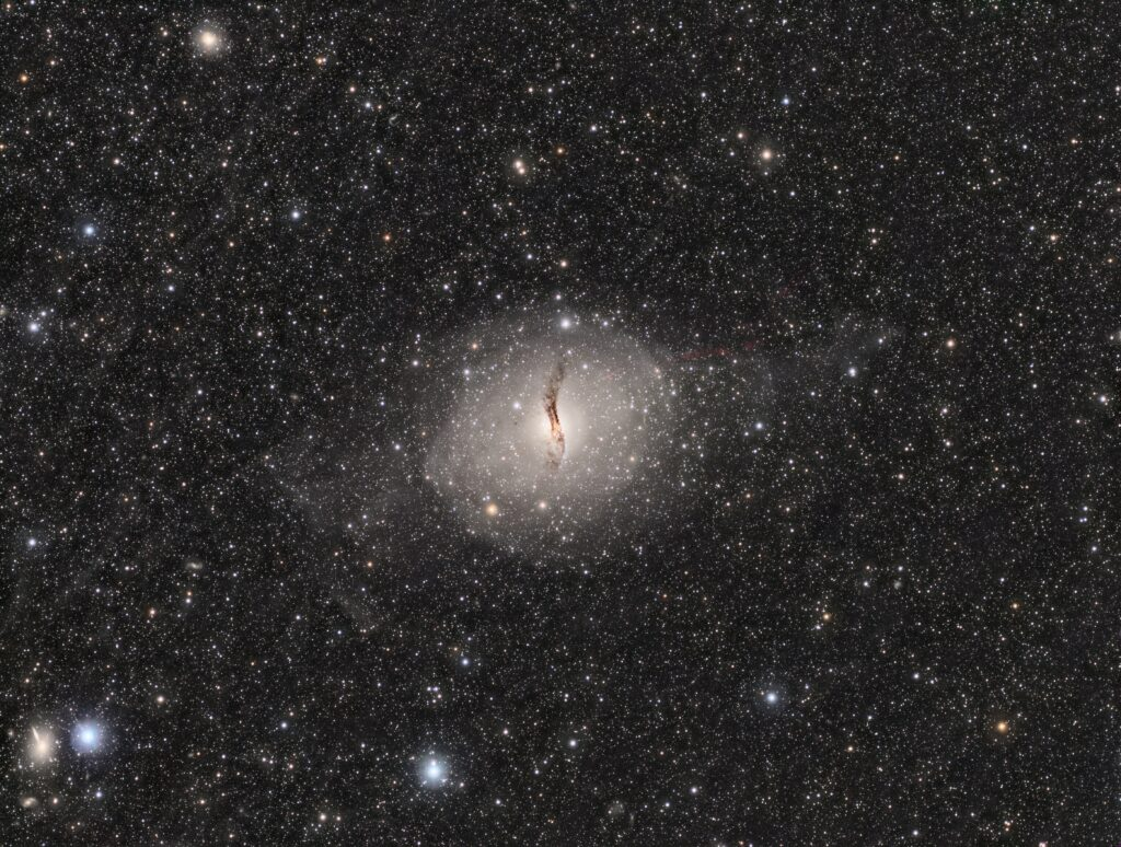 NGC5128 ケンタウルスA(Crop無し版)